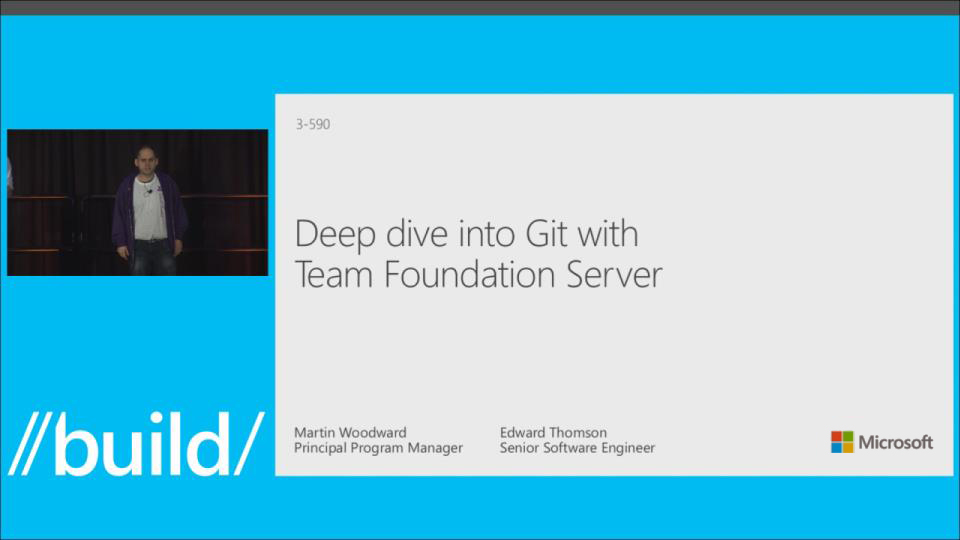 Deep Dive into Git with Team Foundation Server
