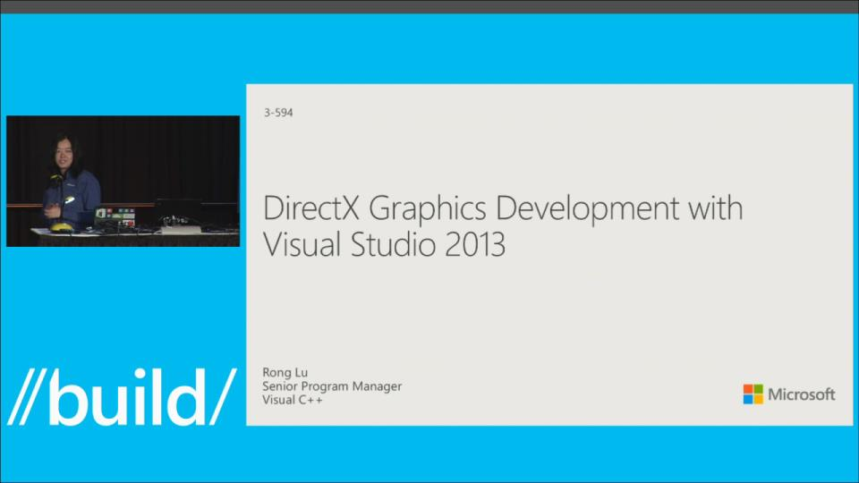 DirectX Graphics Development with Visual Studio 2013