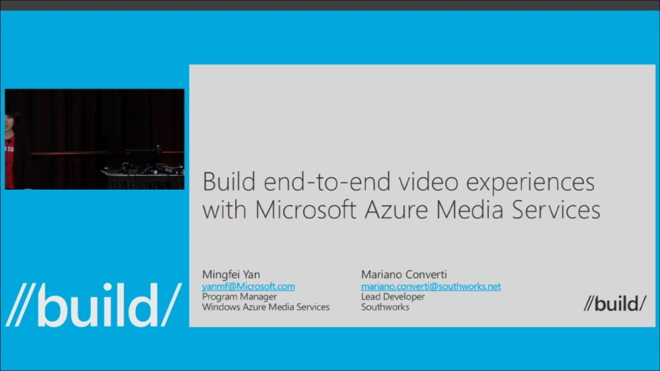 Building End-To-End Video Experiences with Azure Media Services