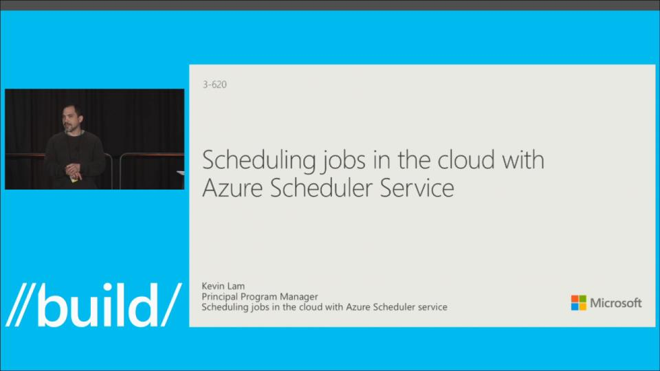 Scheduling Jobs in the Cloud with the Azure Scheduler Service