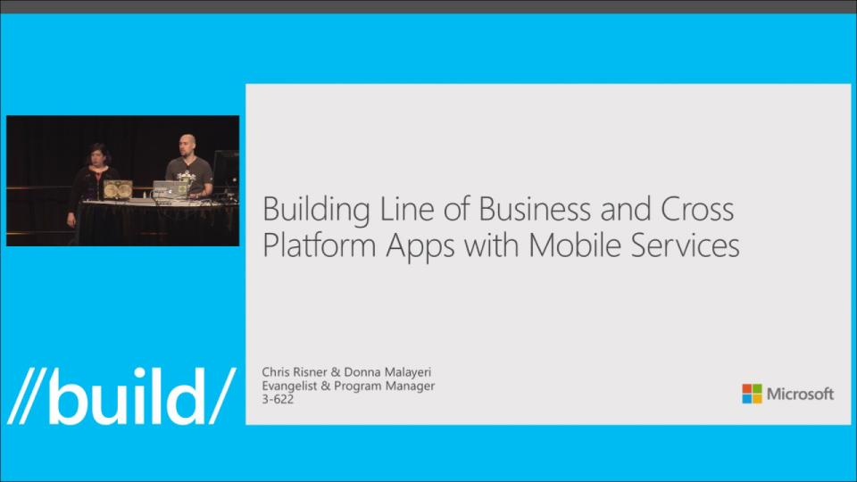 Building Cross-Platform Line of Business Apps with Mobile Services