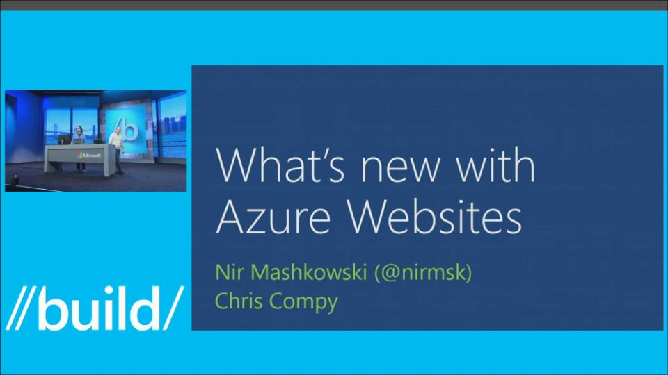 What's New with Azure Web Sites