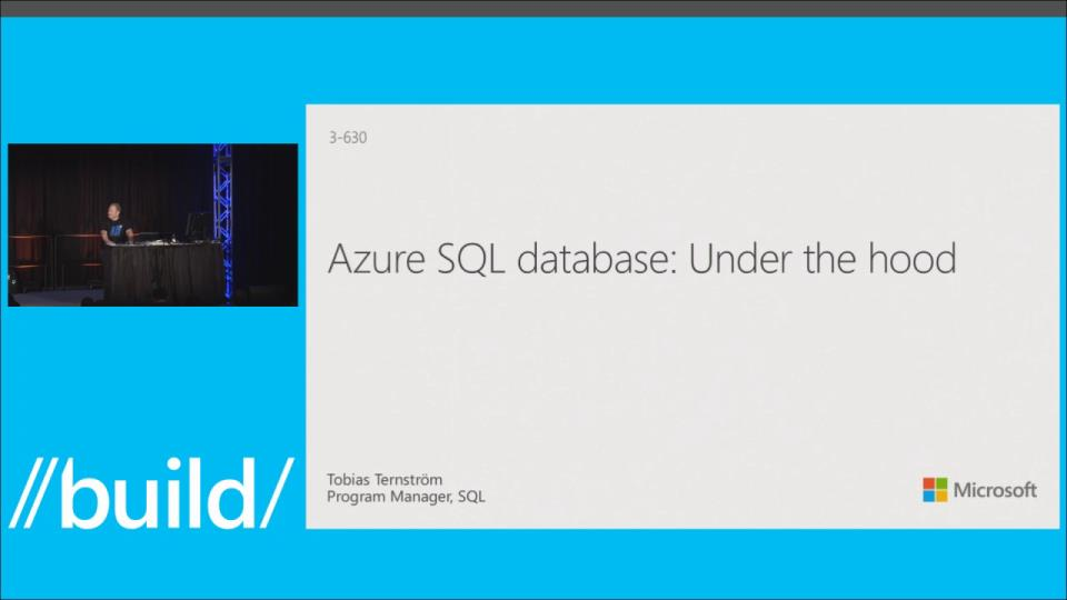 Azure SQL Database: Under the Hood