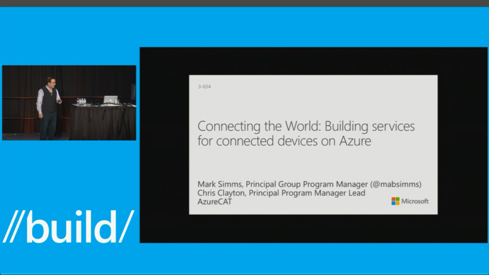 Connecting the World: Building Services for Connected Devices on Azure