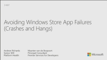 Avoiding Windows Store App Failures
