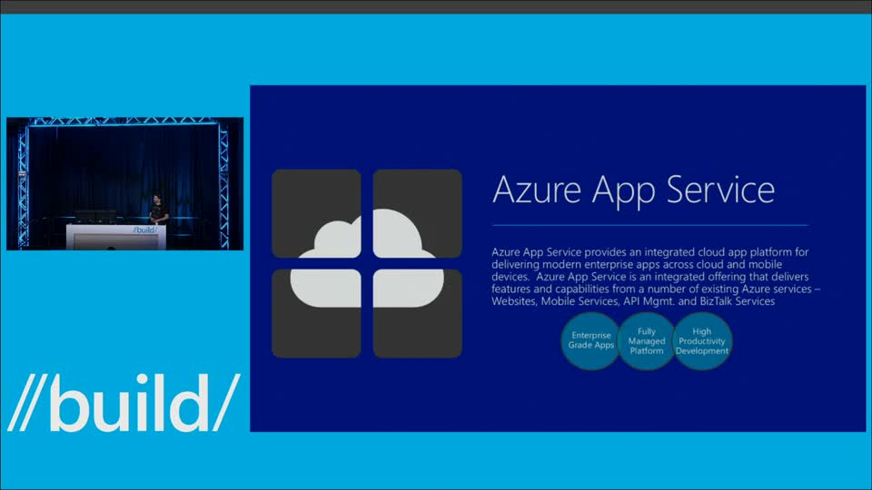 Running Web and Mobile Apps on Azure App Service