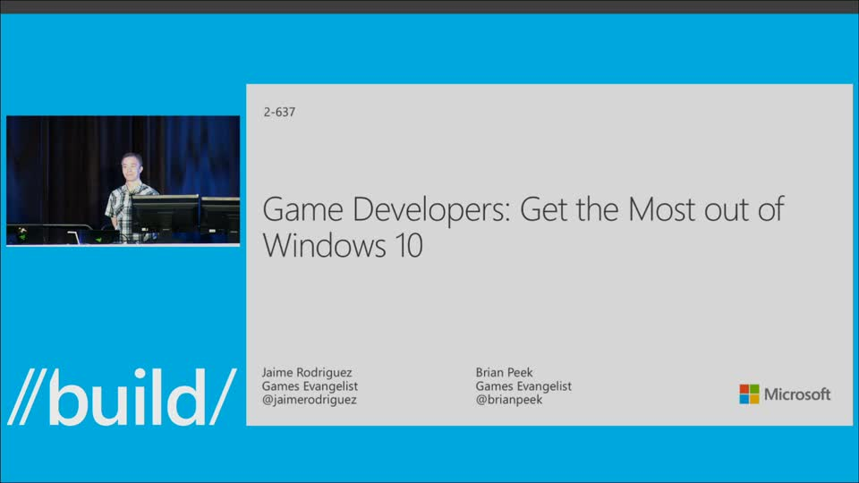Game Developers: Get the Most Out of Windows 10