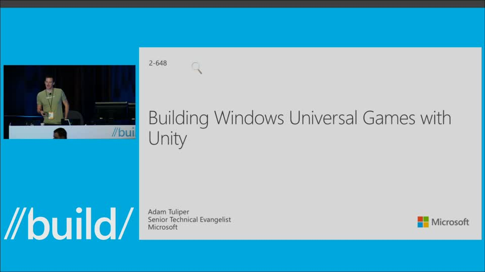 Building Universal Windows Games with Unity
