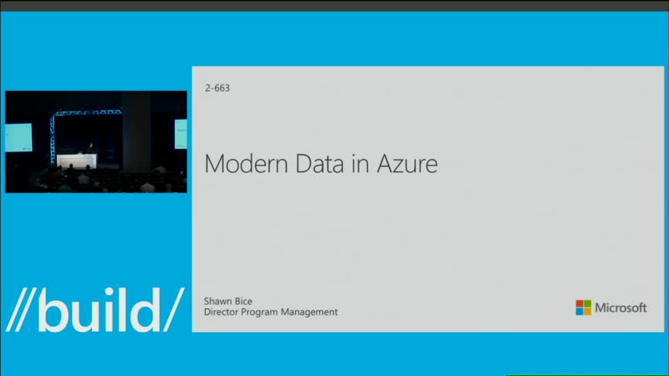 Modern Data on Azure