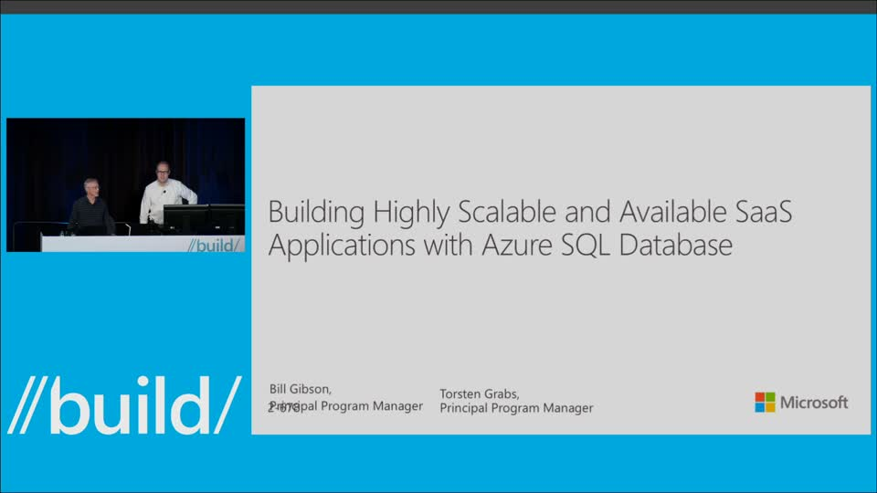 Building Highly Scalable and Available SaaS Applications with Azure SQL Database