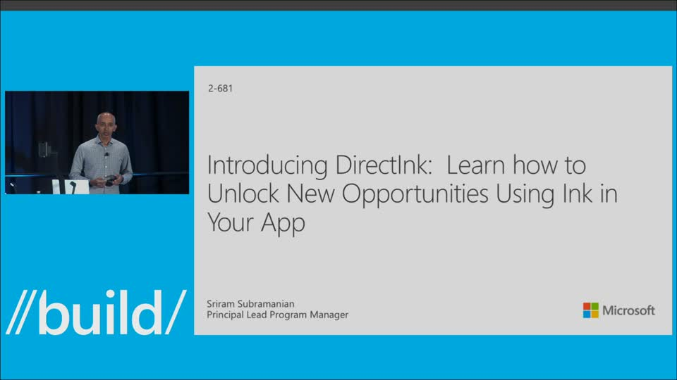 Introducing DirectInk: Learn How to Unlock New Opportunities Using Ink in Your App