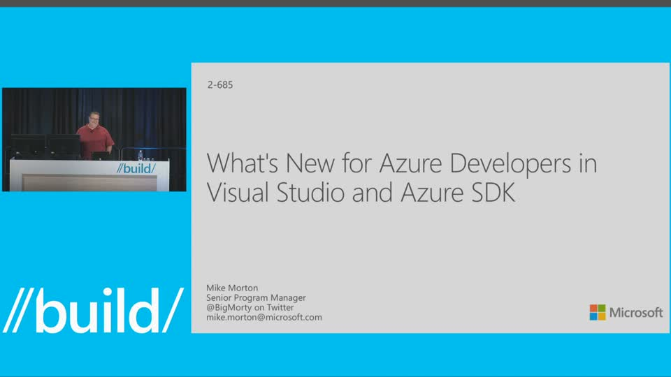 What's New for Azure Developers in Visual Studio and Azure SDK