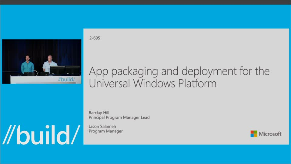 App Packaging and Deployment for Universal Windows Apps