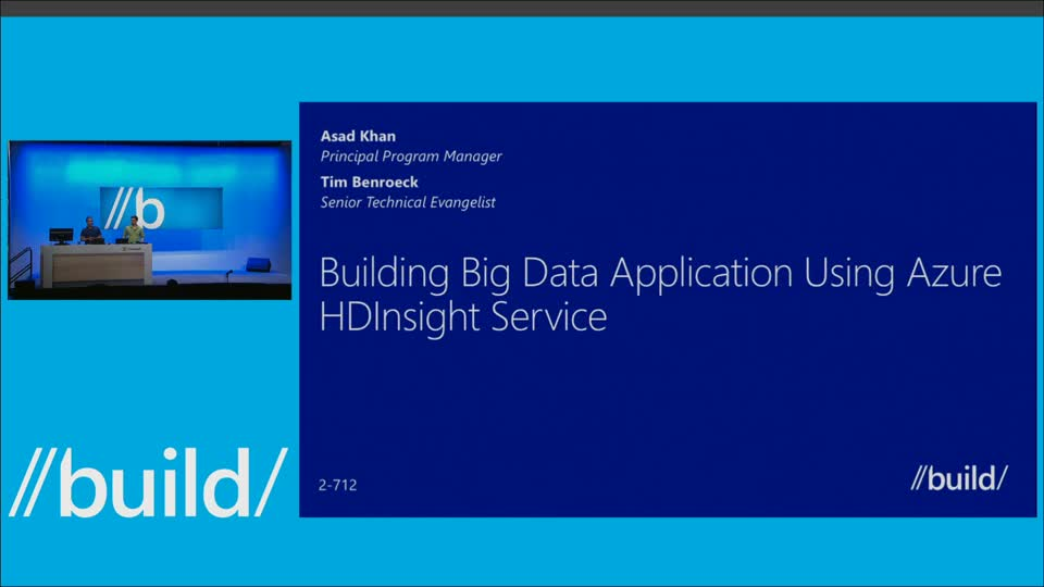 Building Big Data Applications Using Azure HDInsight Service