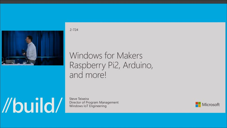 Windows for Makers: Raspberry Pi 2, Arduino and More