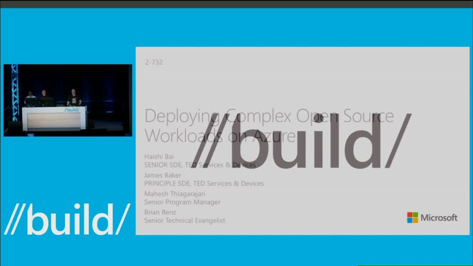 Deploying Complex Open Source Workloads on Azure