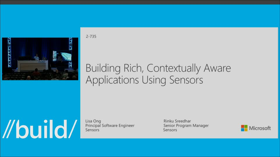 Building Rich, Contextually Aware Universal Windows Apps Using Sensors