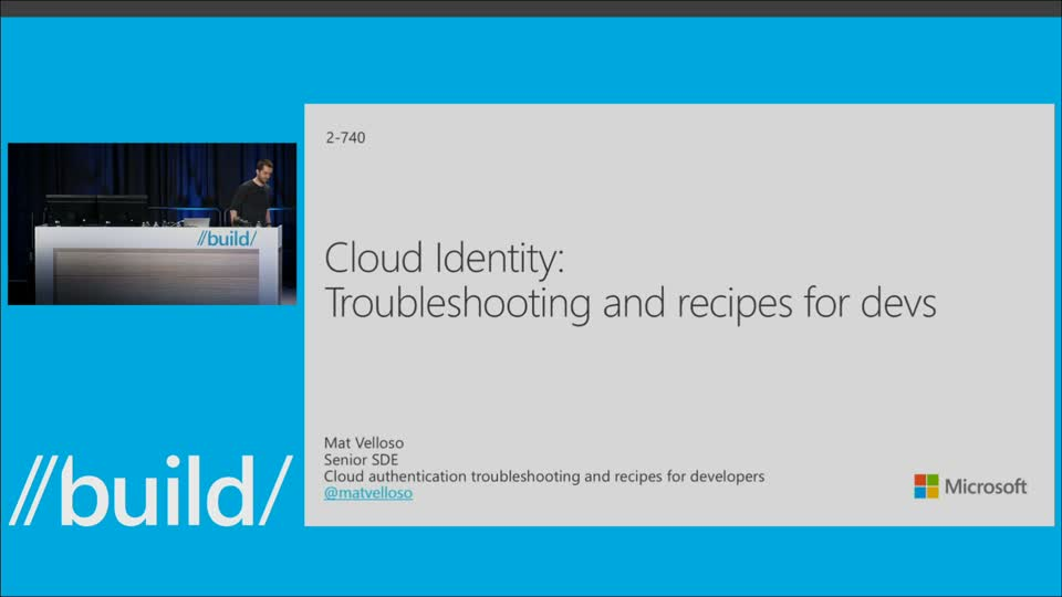 Cloud Authentication Troubleshooting and Recipes for Developers