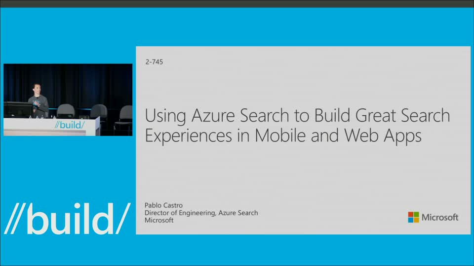 Using Azure Search to Build Great Search Experiences in Mobile and Web Apps