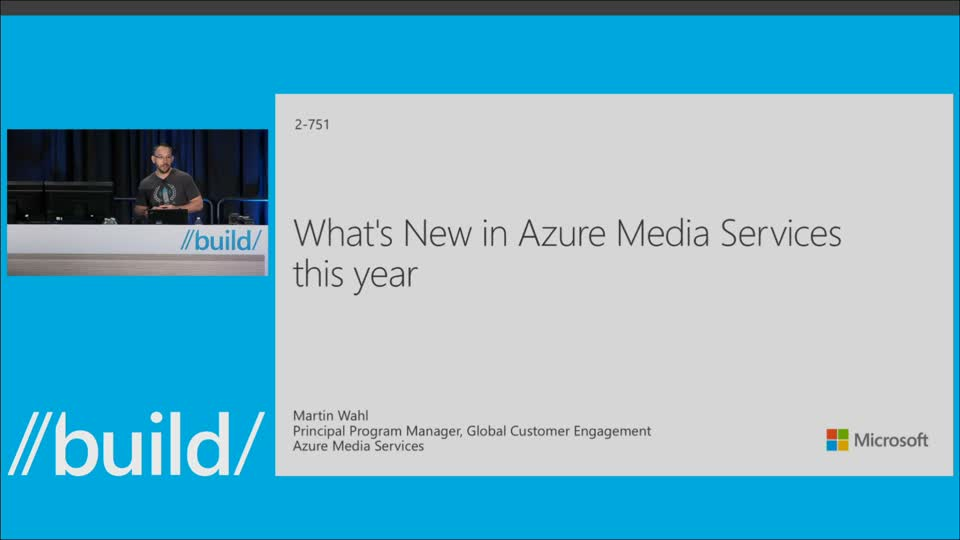 What's New in Azure Media Services this Year: Indexer, Player, and Live Encoder