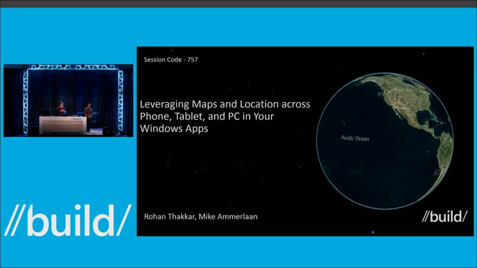 Leveraging Maps and Location Across Phone, Tablet, and PC in Your Windows Apps