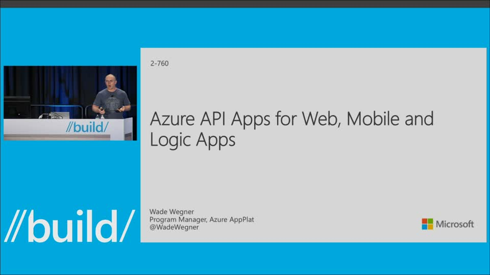 Azure API Apps for Web, Mobile and Logic Apps