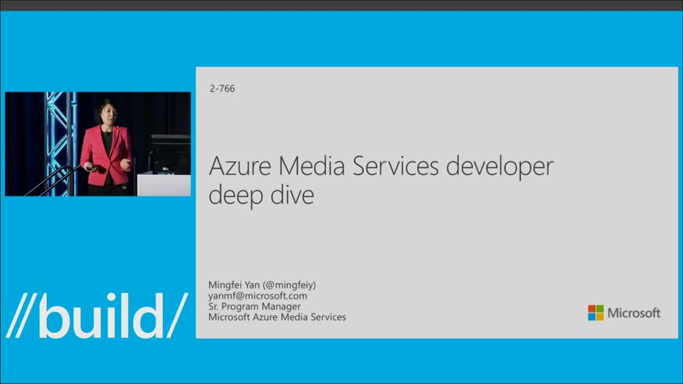 Azure Media Services Developer Deep Dive
