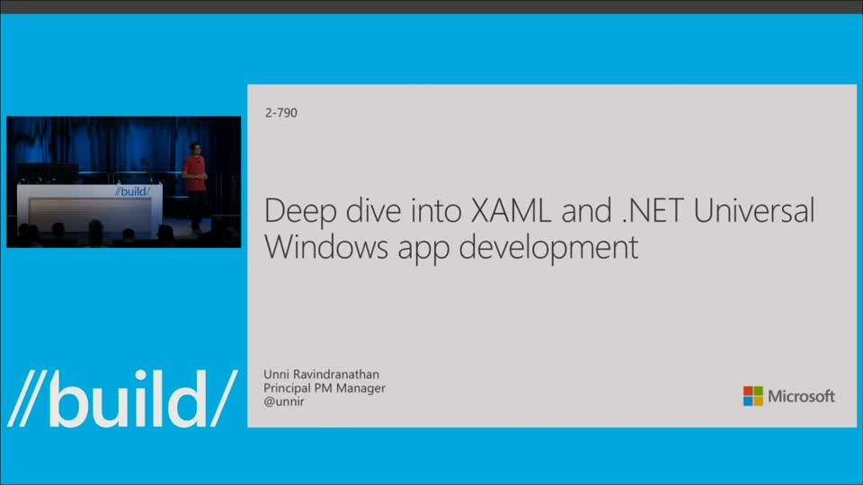 Deep Dive into XAML and .NET Universal Windows App Development