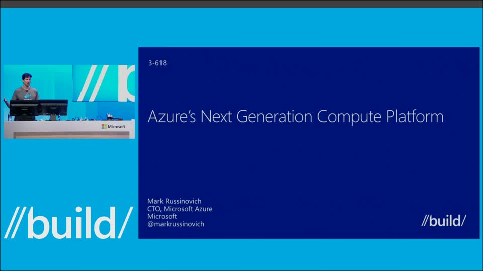 The Next Generation of Azure Compute Platform with Mark Russinovich