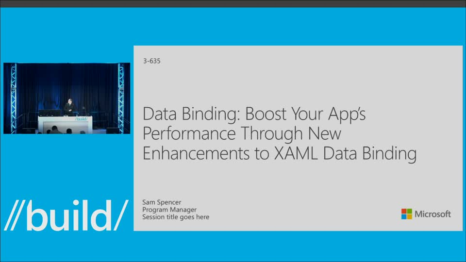 Data Binding: Boost Your Apps' Performance Through New Enhancements to XAML Data Binding