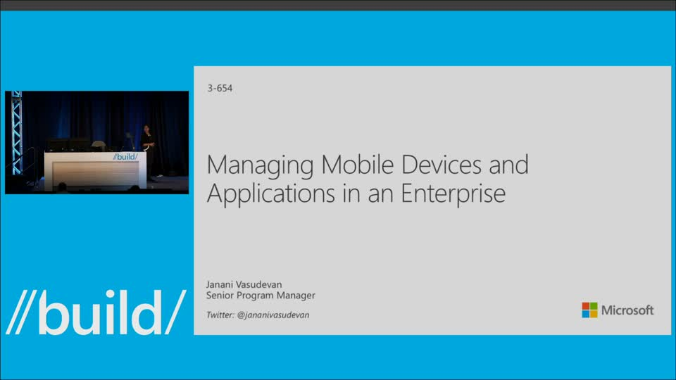 Managing Mobile Devices and Applications in an Enterprise
