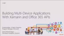 Building Multi-Device Apps with Xamarin with Office 365 APIs