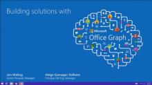 Building Solutions with Office Graph