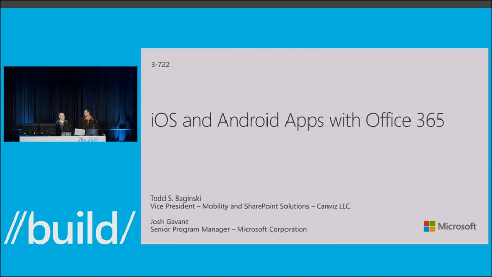iOS and Android Apps with Office 365