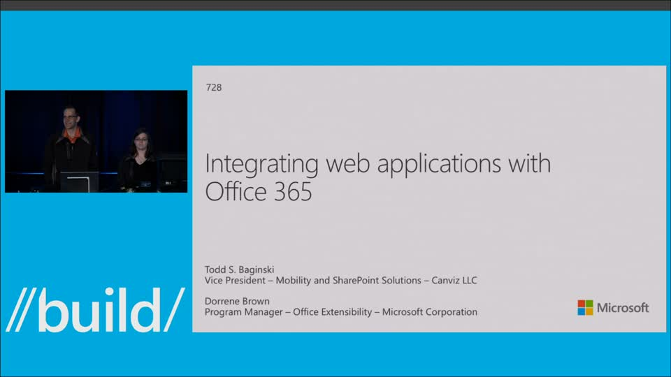 Integrating Web Apps with Office 365