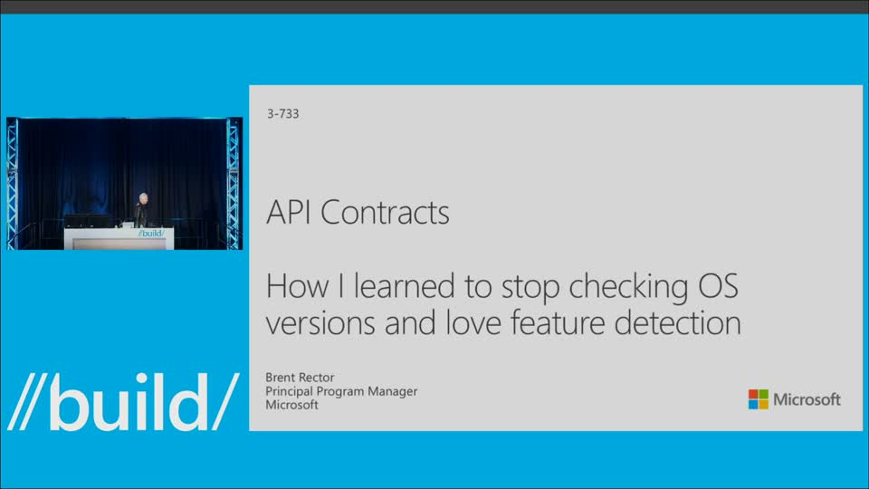 API Contracts (or How I Learned to Stop Checking OS Versions and Love Feature Detection)
