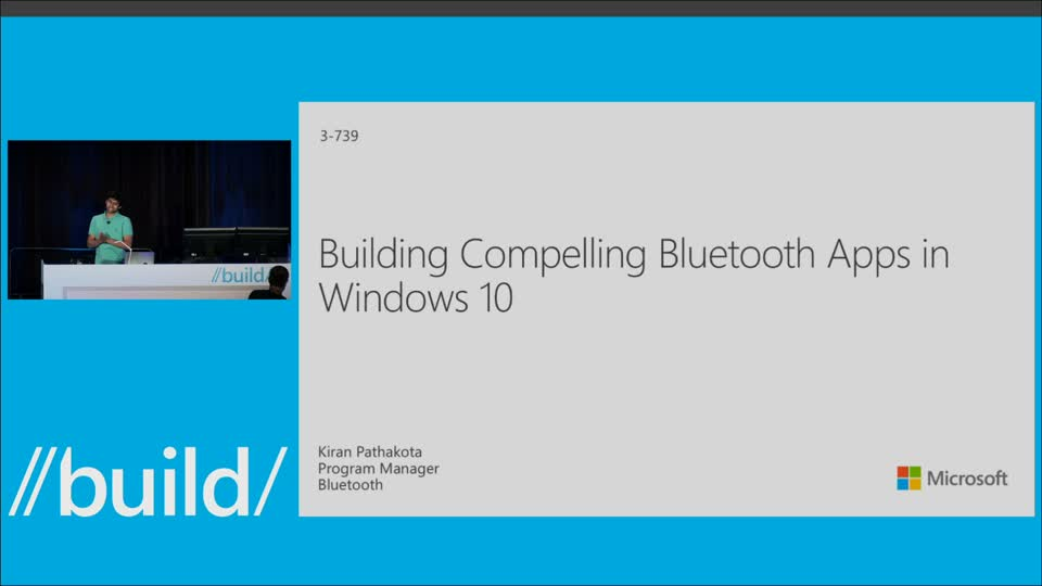 Building Compelling Bluetooth Apps in Windows 10