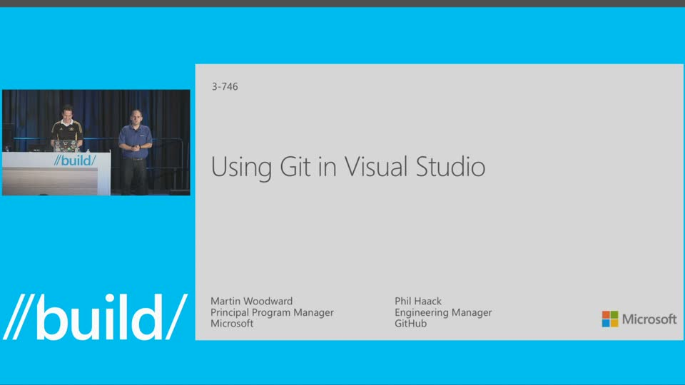 Using Git in Visual Studio