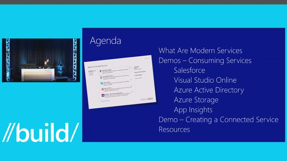 On the Shoulders of Giants: Building Apps that Consume Modern SaaS Endpoints with Visual Studio 2015