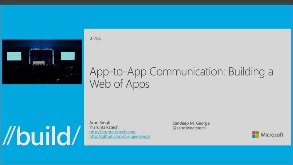 App-to-App Communication: Building a Web of Apps