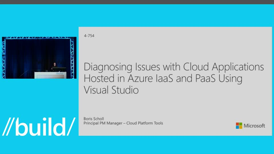 Diagnosing Issues with Cloud Applications Hosted in Azure IaaS and PaaS Using Visual Studio