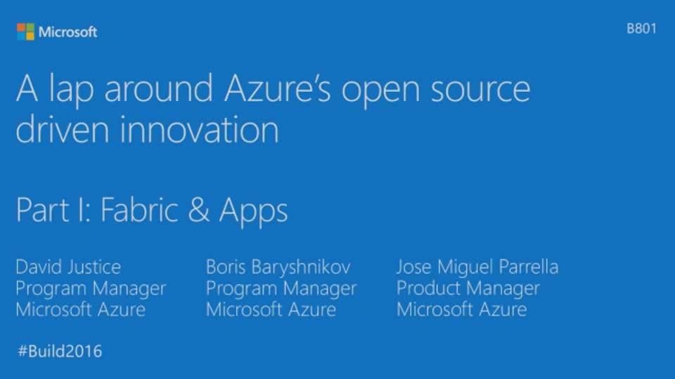 A Lap Around Azure's Open Source Driven Innovation, Part I: Shipping Penguins in the Cloud
