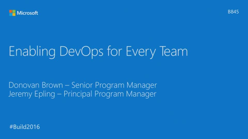 Enabling DevOps for Every Team