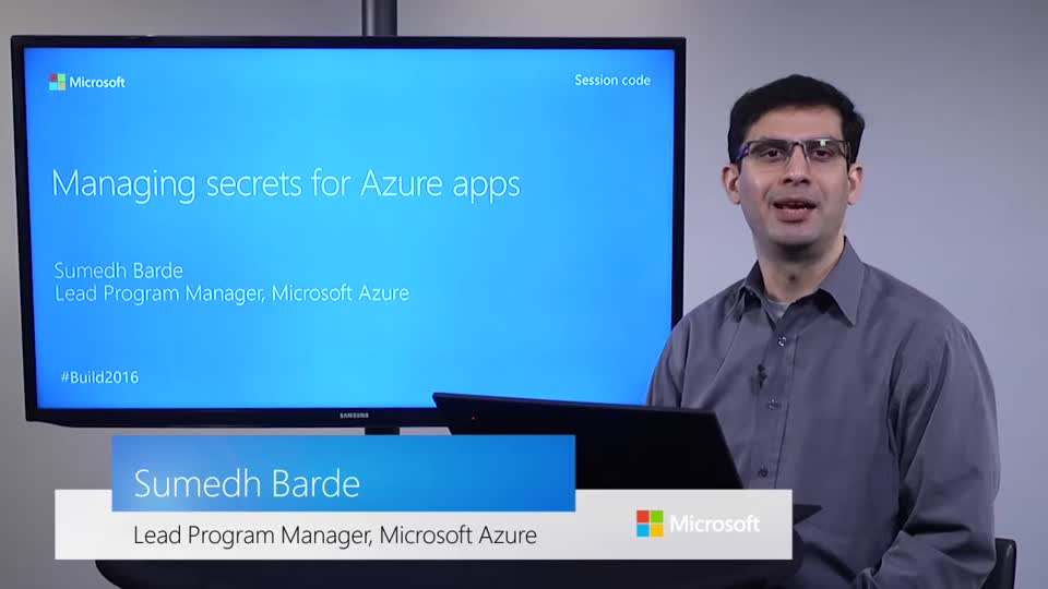 Managing Secrets for Azure Apps