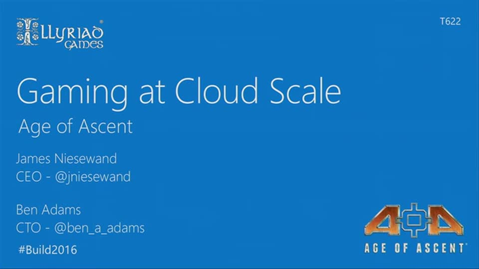 Gaming at Cloud Scale