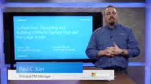 Surface Hub: Designing and Building UWP Apps for the Large Screen