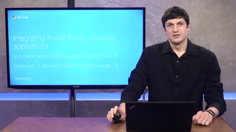 Integrating Power BI into Your Own Applications – Featuring Real World Demos