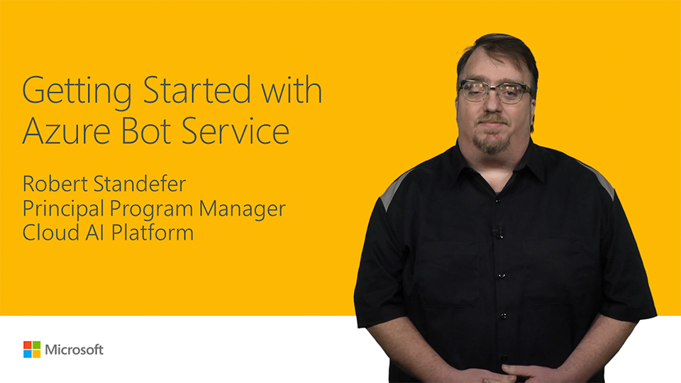 Get started with Azure Bot Service