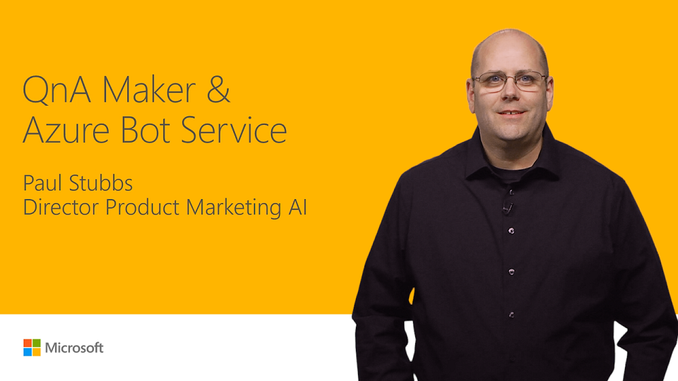 Build an intelligent knowledge base with QnA Maker and Bot Service