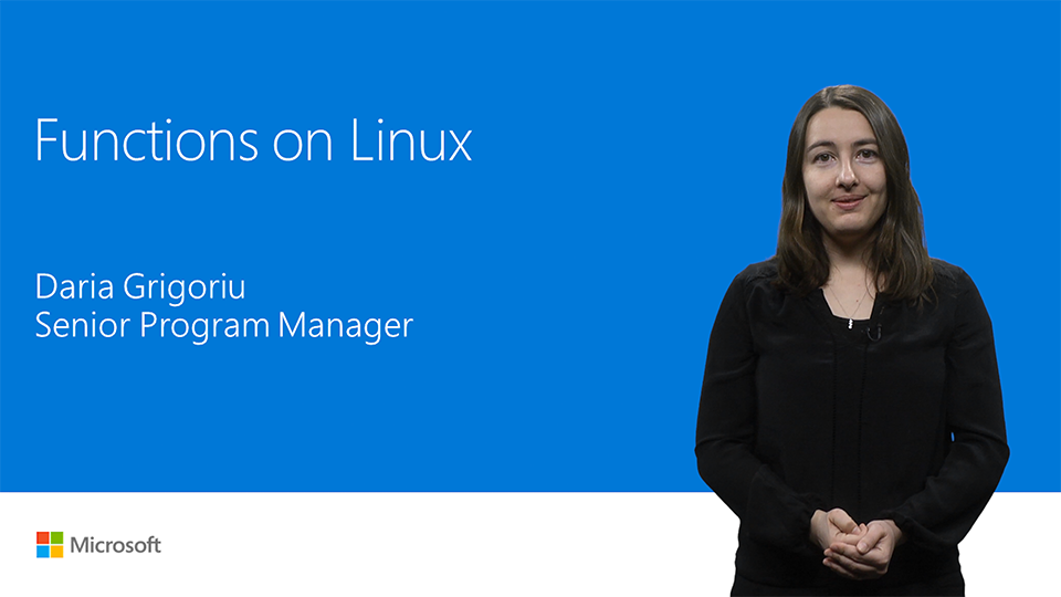Azure Functions on Linux